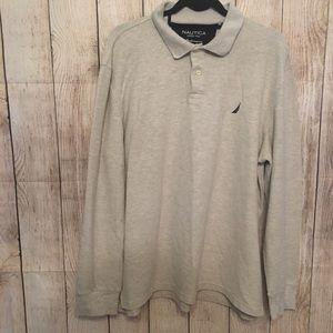 Men's Nautica Long Sleeve Shirt Sz XL